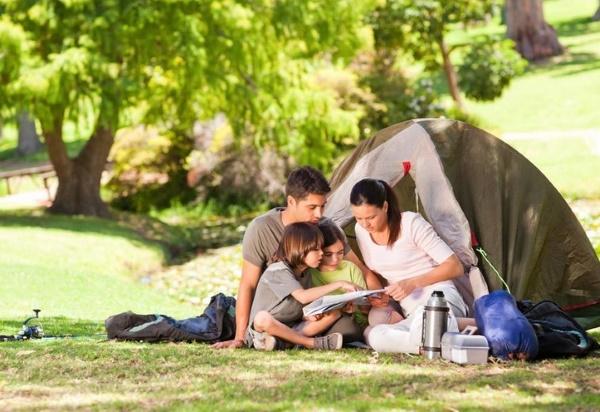 Как правильно отдыхать на природе с детьми